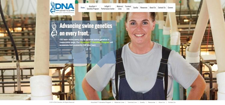 DNAGeneticsWebScreenShot2